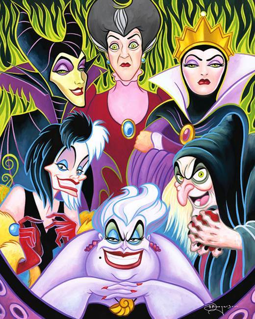 Tim Rogerson Snow White Artwork