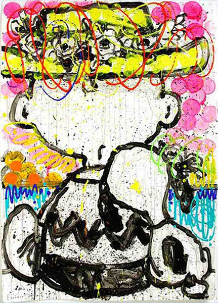 Tom Everhart Tom Everhart Limited Edition Lithograph Mon Ami