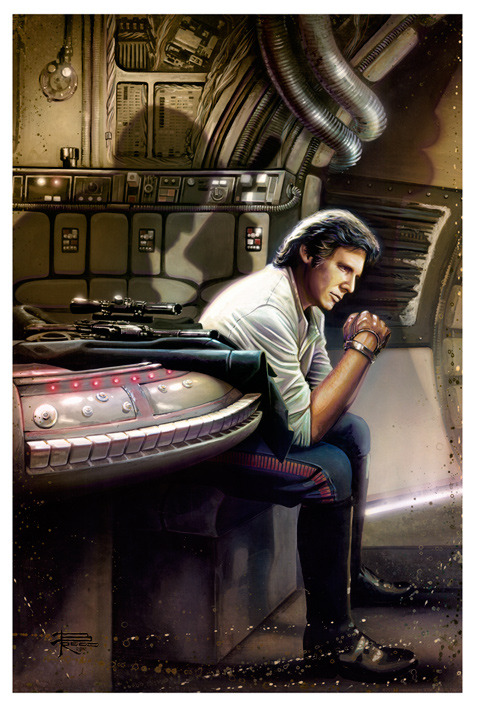 Brian Rood animation art