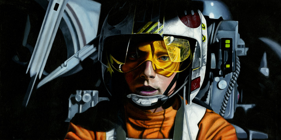 Damien Friesz Star Wars Artwork