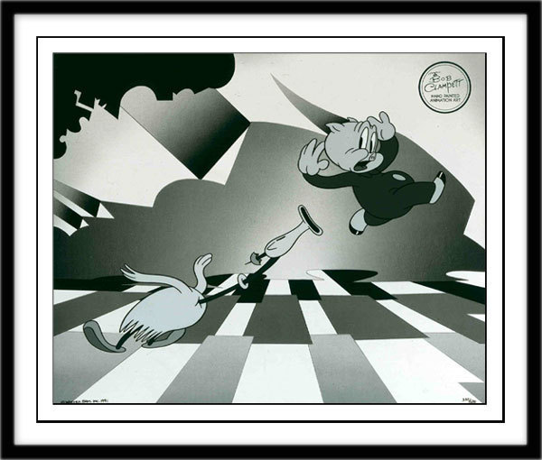 Bob Clampett Porky Pig Artwork