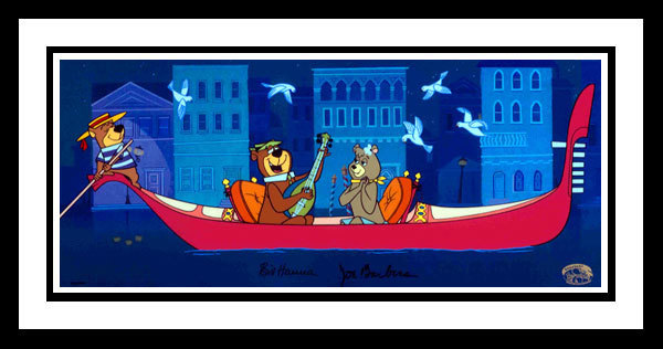 Hanna-Barbera Yogi the Bear Artwork