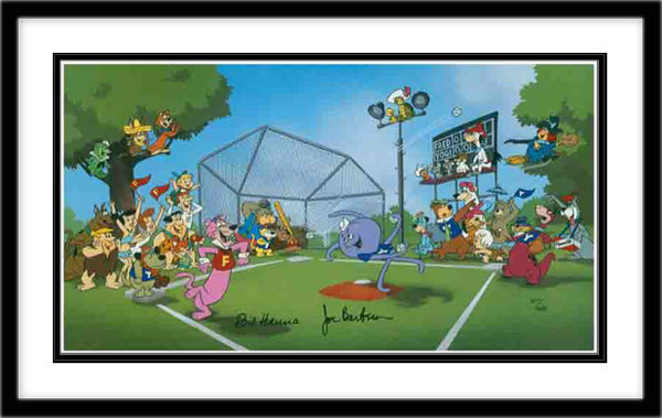 Hanna-Barbera Artwork Hanna-Barbera Limited Edition Hand-Painted Cel Play Ball