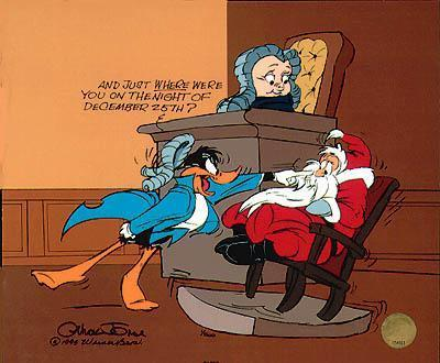 Chuck Jones Daffy Duck Art
