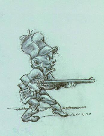 Chuck Jones Elmer Fudd Artwork