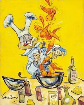 Chuck Jones Bugs Bunny Animation Art