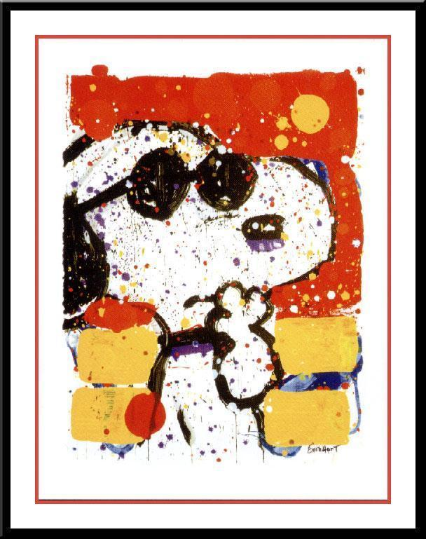 Tom Everhart Tom Everhart Limited Edition Lithograph Cool & Intelligent