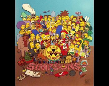 Cartoon Network Simpsons Artwork