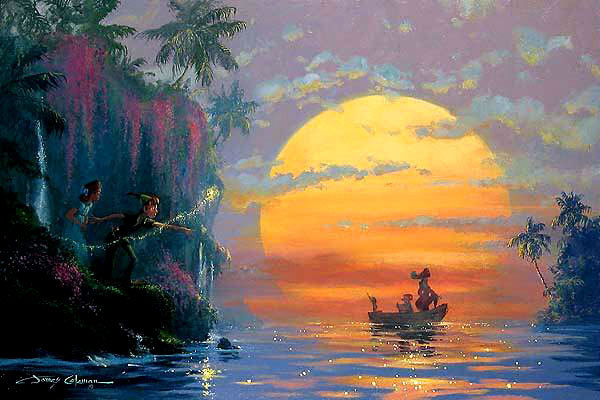 James Coleman Peter Pan Artwork