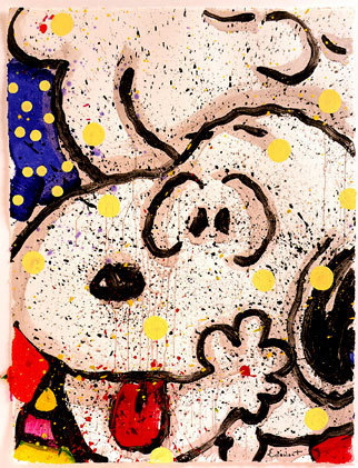 Tom Everhart Tom Everhart Limited Edition Lithograph My Main Squeeze