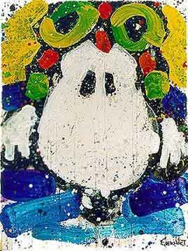 Tom Everhart Tom Everhart Limited Edition Lithograph Ace Face