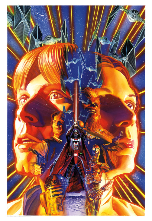 Alex Ross Star Wars Artwork