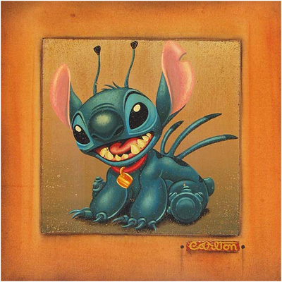 Trevor Carlton Lilo and Stitch Artwork