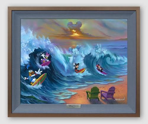 Jim Warren Mickey Mouse Artwork
