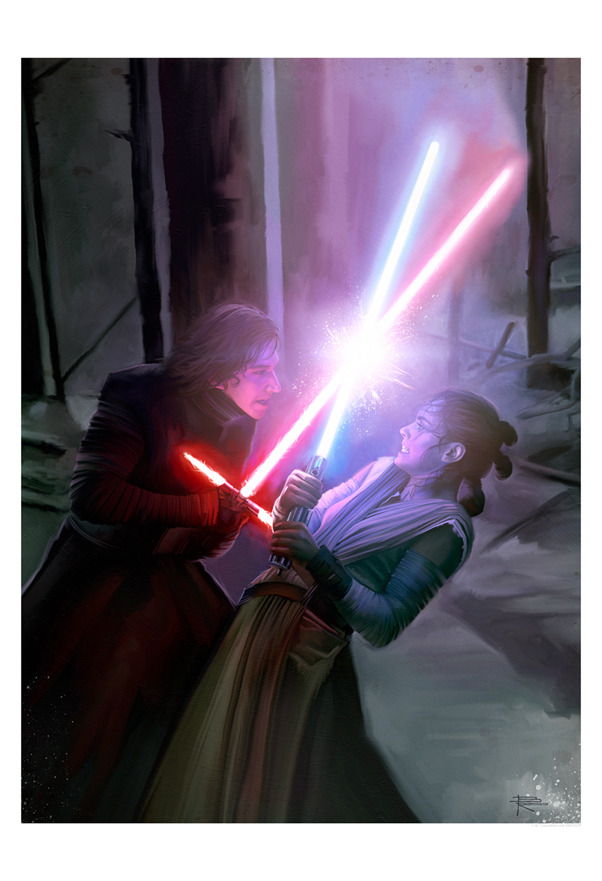 Brian Rood Star Wars Artwork