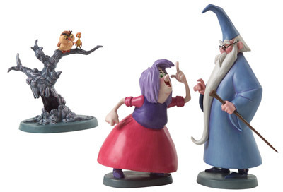 Sword in the Stone Artwork WDCC Figurines Classics Collection Wizards Duel