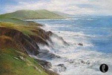 Peter Ellenshaw Peter Ellenshaw Crashing Waves