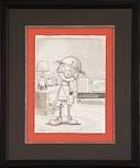Fabio Napoleoni Fabio Napoleoni Not Afraid To Use It (Original) (Framed)