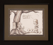 Fabio Napoleoni Fabio Napoleoni Everyone Is Welcomed (Original) (Framed)