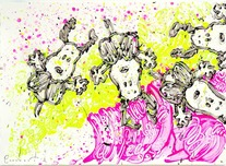 Tom Everhart Prints Tom Everhart Prints From See to Shining See 6 (Original - Framed)