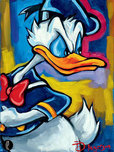 Donald Duck Animation Art Donald Duck Animation Art Donald Duck