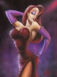 Roger Rabbit Artwork Roger Rabbit Artwork Girl in Red