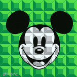 Mickey Mouse Artwork Mickey Mouse Artwork 8-Bit Mickey Green