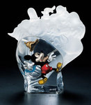 Mickey Mouse Sculpture Mickey Mouse Artwork Lonesome Ghost