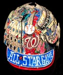 Charles Fazzino 3D Art Charles Fazzino 3D Art 2018 MLB 89th All-Star Game Baseball Helmet (Full Size)