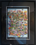 Charles Fazzino 3D Art Charles Fazzino 3D Art A Taste of French Gastronomie (PR)
