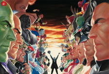 Alex Ross Comic Art Alex Ross Comic Art Absolute Justice: Battle