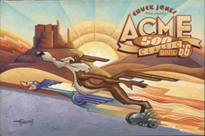 Road Runner Artwork Road Runner Artwork Acme 500