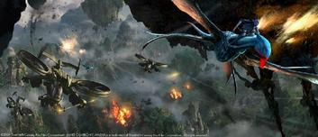20th Century Fox Artwork 20th Century Fox Artwork Aerial Battle