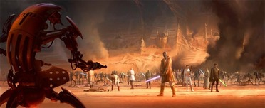 Star Wars Artwork Star Wars Artwork Arena Standoff