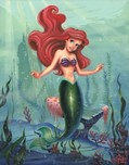 Little Mermaid Artwork Little Mermaid Artwork Ariel