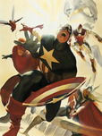 Alex Ross Comic Art Alex Ross Comic Art Avengers 4