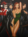 Batman Animation Artwork  Batman Animation Artwork  Bad Girls