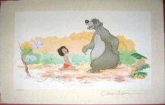 Jungle Book Artwork Jungle Book Artwork Mowgli & Baloo