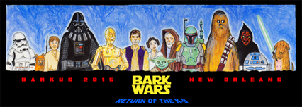 Star Wars Artwork Star Wars Artwork Bark Wars