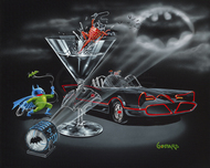 Batman Animation Artwork  Batman Animation Artwork  Bat-Tini (28 x 35)