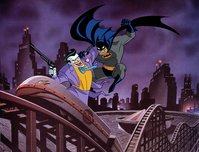 Batman Animation Artwork  Batman Animation Artwork  Be a Clown (DX)