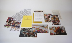 Alex Ross Comic Art Animation & Super Hero Art Beatles Lithograph Set of 7