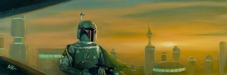 Star Wars Artwork Star Wars Artwork Bespin the Bounty Hunter (SN)