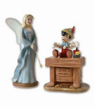 Pinocchio Artwork Pinocchio Artwork Blue Fairy & Pinocchio:  The Gift of Life is Thine