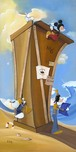 Donald Duck Animation Art Donald Duck Animation Art Boat Builders