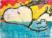 Tom Everhart Prints Tom Everhart Prints Bora Bora Boogie Oogie (SN)