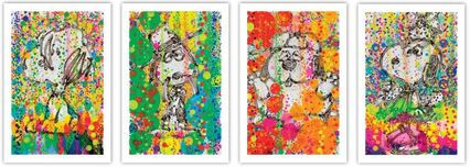 Tom Everhart Prints Tom Everhart Prints Bubble Bath Suite of 4