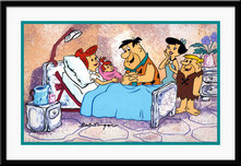 Hanna-Barbera Artwork Hanna-Barbera Artwork Blessed Event - Signed