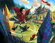 Harry Potter Artwork Harry Potter Artwork Quidditch - AP