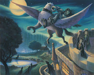 Harry Potter Artwork Harry Potter Artwork Rescue of Sirius